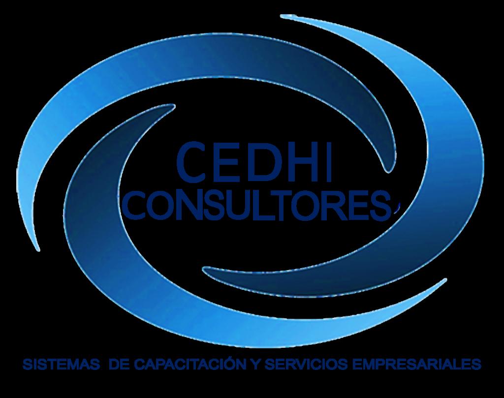 Logo azul de la empresa